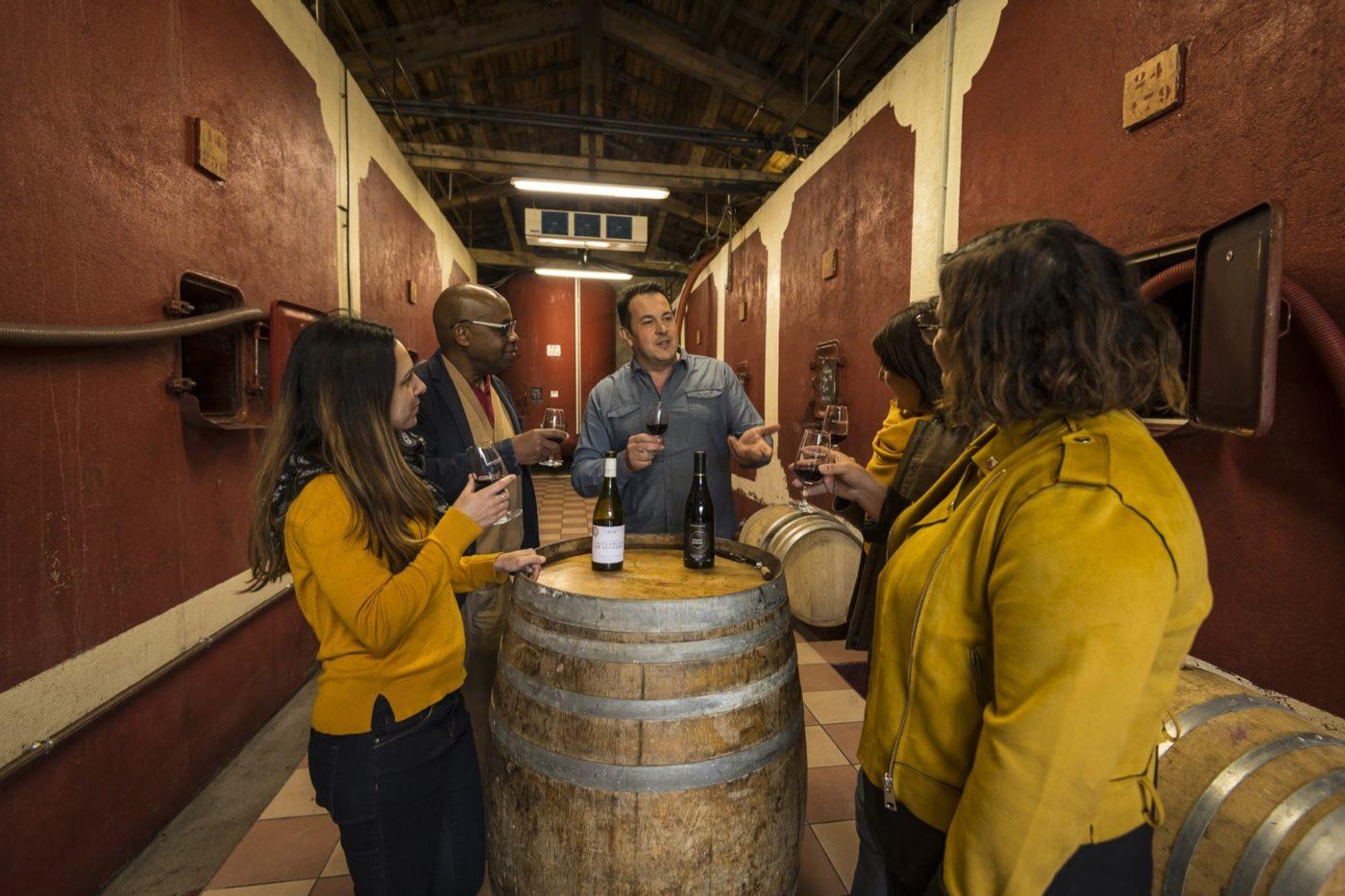 vins ardeche reseaux sociaux