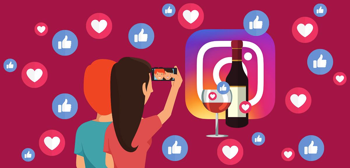 Vins Réseaux sociaux